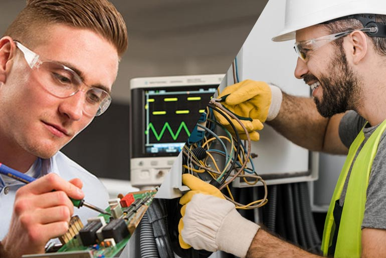 Electrician VS Electrical Engineer The Better Career Option