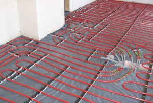 Hydronic Radiant Floor Heating Installation