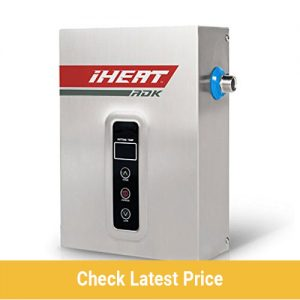 iHeat Tankless Stainless Steel Electric Water Heater