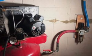 How to Install Air Compressor Lines in Garage Easily
