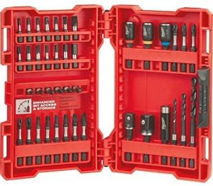 Milwaukee Shockwave Impact Drill and Drive Driver Bit Set