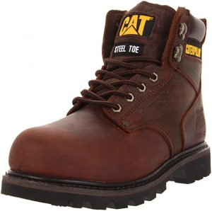 Caterpillar Mens Second Shift Steel Toe Work Boot