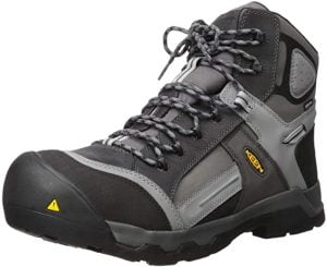 KEEN Utility Mens Davenport 6 inch 400g Ct Waterproof Work Boot
