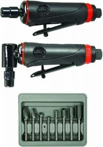 Astro Pneumatic Tool 219 Onyx 3pc Die Grinder Kit