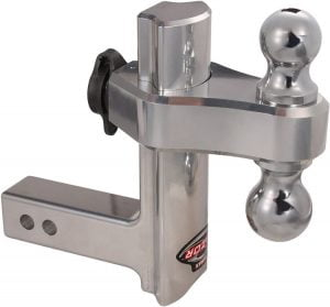 Trimax 8 Inch Premium Aluminum Adjustable Hitch