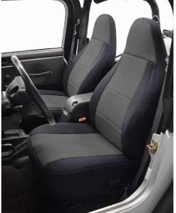 Coverking - SPC131 Custom Fit Seat Cover for Jeep Wrangler