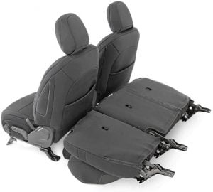 Rough Country Neoprene Seat Covers Jeep Wrangler