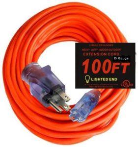 Century Contractor Grade 10/3 10 Gauge Power Extension Cord