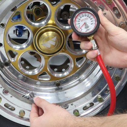Longacre 50417 0-60 PSI Analog Tire Pressure Gauge