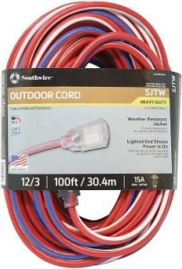 Southwire 2549SWUSA1 12/3 Extension Cord