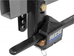 Reese 66559 Steadi-Flex Trunnion Weight- Distributing Hitch Kit with Shank