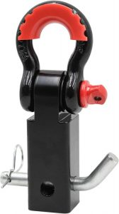 ALL-TOP Forged Shackle Hitch 2 Inch Receiver & Pin + 3-4 Inch Shackle