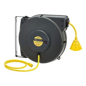 AmazonCommercial Extension Cord Reel Heavy Duty Retractable