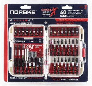 Norske Tools 40pcs Screwdriver Bit Set - Nutsetters and Magnetic Bit Holder