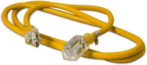 whats Heavy Duty Lighted SJTW Indoor:Outdoor Extension Cord